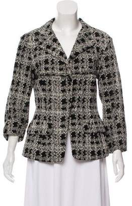 Nina Ricci Textured Structured Blazer