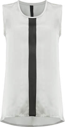 Ilaria Nistri contrast stripe blouse