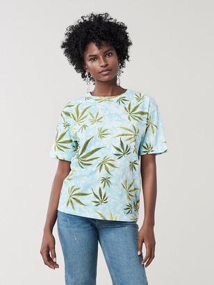 Diane von Furstenberg Marley Oversized Cotton T-Shirt