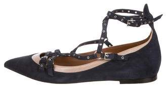 Valentino Love Latch Flats