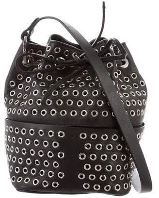Tamara Mellon Leather Bucket Bag