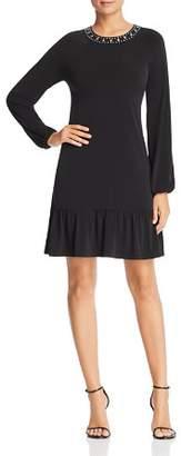 MICHAEL Michael Kors Studded-Neck Dress