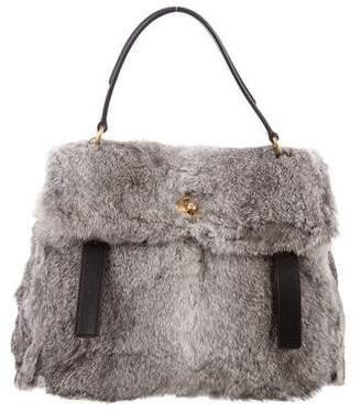 Saint Laurent Fur Muse 2 Bag