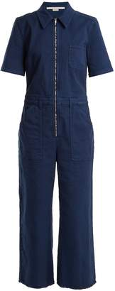 Stella McCartney Zip-through denim jumpsuit