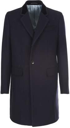 Gucci blue wool coat