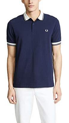 Fred Perry Men's Contrast Rib Pique Shirt