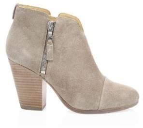 Rag & Bone Rag& Bone Women's Margot Suede Ankle Boots - Grey - Size 35 (5)