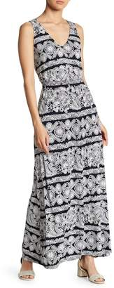 Joe Fresh Smocked Waist Maxi Dress