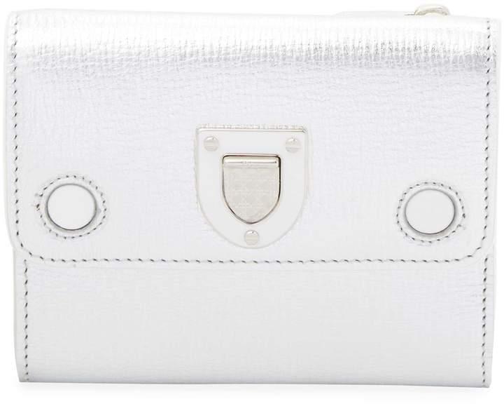 Dior Women's Metallic Leather Wallet
