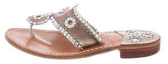 Jack Rogers Leather Thong Sandals