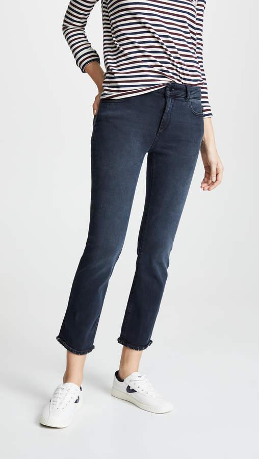 Mara Ankle Instaculpt Straight Leg Jeans