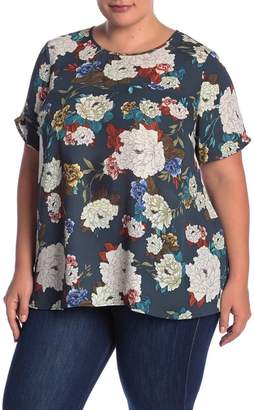 Daniel Rainn DR2 by Pinch Sleeve Blouse (Plus Size)