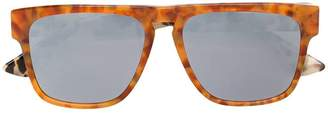 McQ Eyewear marbled square sunglasses