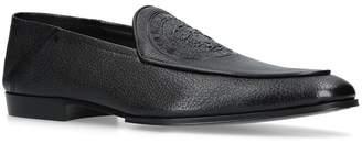 Balmain Embossed Loafers