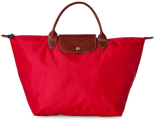longchamp Cherry Le Pliage Large Tote