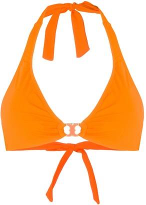 Tory Burch halter bikini top