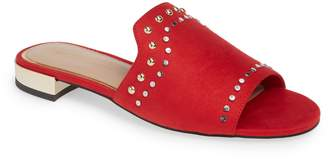 BCBGMAXAZRIA Devin Studded Slide Sandal