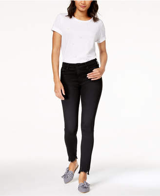 AG Jeans Farrah Skinny Ankle Black Denim - High Rise Skinny Ankle