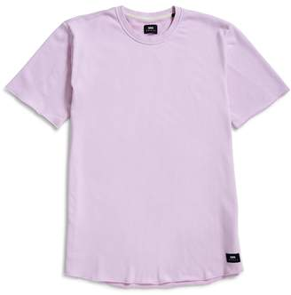 Edwin Cotton Terry T-Shirt Pink