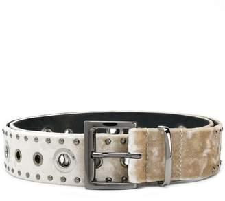 Dorothee Schumacher silver-tone studded belt