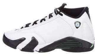 Nike Jordan Boys' 14 Retro Bg Leather Sneakers