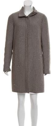 Loro Piana Cashmere Knee-Length Coat