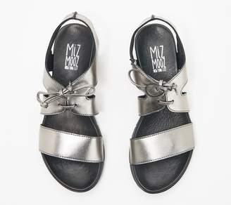 Miz Mooz Leather Lace-Up Sandals - Davey