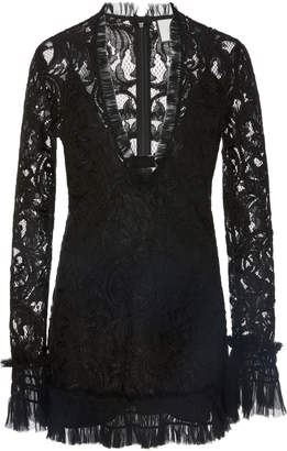Alexis Nuray Lace Mini Dress
