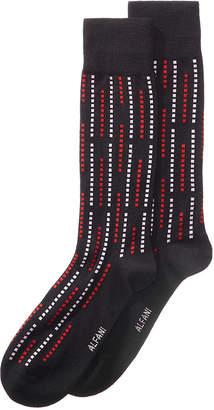 Alfani Men's Geo Raindrop Printed Socks, Created for Macy's
