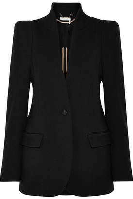 Chloé Stretch-wool Twill Blazer - Black