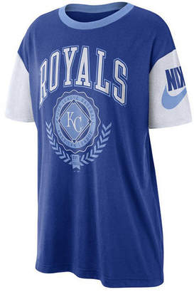 Nike Women Kansas City Royals Retro Boycut T-Shirt