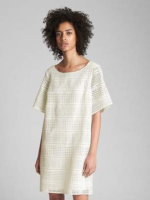 Gap Lace Overlay Shift Dress