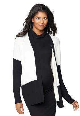 Vince Pea Collection Maternity Colorblock Cardigan