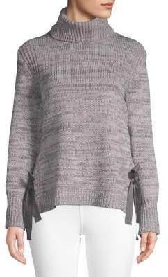 Ellen Tracy Heathered Turtleneck Sweater