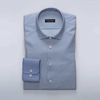 TMF - Business shirt in blue dobby