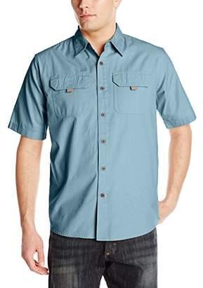 Wrangler Men's Authentic Short Sleeve Canvas Shirt
