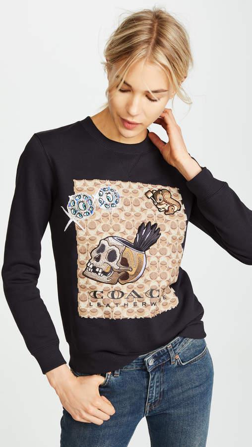 Coach 1941 x Disney Signature C Sweatshirt