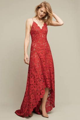 Tracy Reese Finola Lace High-Low Gown $698 thestylecure.com