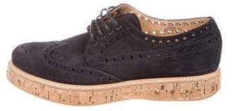 Church's Suede Wingtip Oxfords