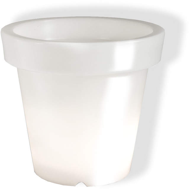 Bloom! - Pot ohne Licht, Weiß, 90 cm