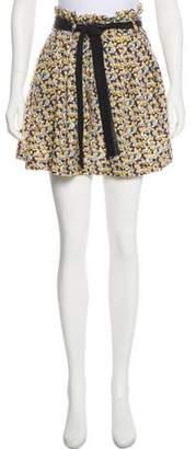 Elizabeth and James Floral Silk Skirt