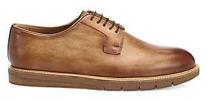 Saks Fifth Avenue Men's BY MAGNANNI Burnished Leather Derby Creepers