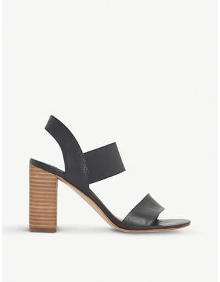 Dune Jumper leather heeled sandals