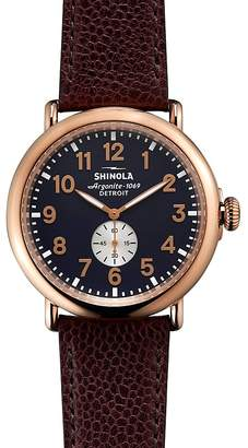 Shinola The Runwell Watch, 47mm
