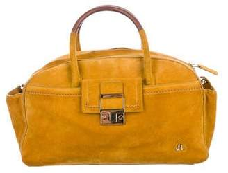 Lanvin Small Suede Bowling Bag