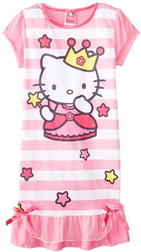 AME Sleepwear Big Girls' Hello Kitty Nightgown