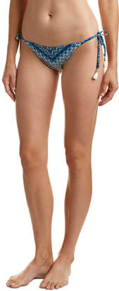 Lucky Brand Reversible Side Tie Bikini Bottom