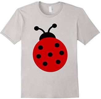 Ladybug Red & Black Novelty Fashion Kids T Shirt Top