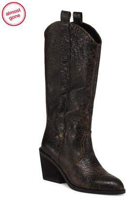Donald J Pliner Vintage Knee High Leather Boots