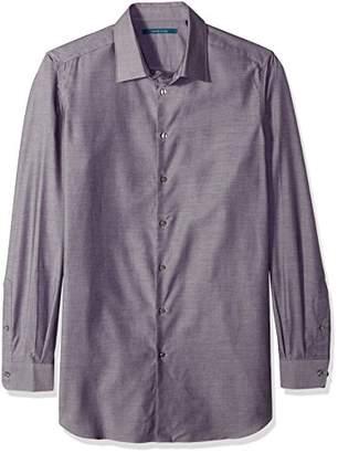 Perry Ellis Men's Big and Tall Essential Plaid Pattern Shirt